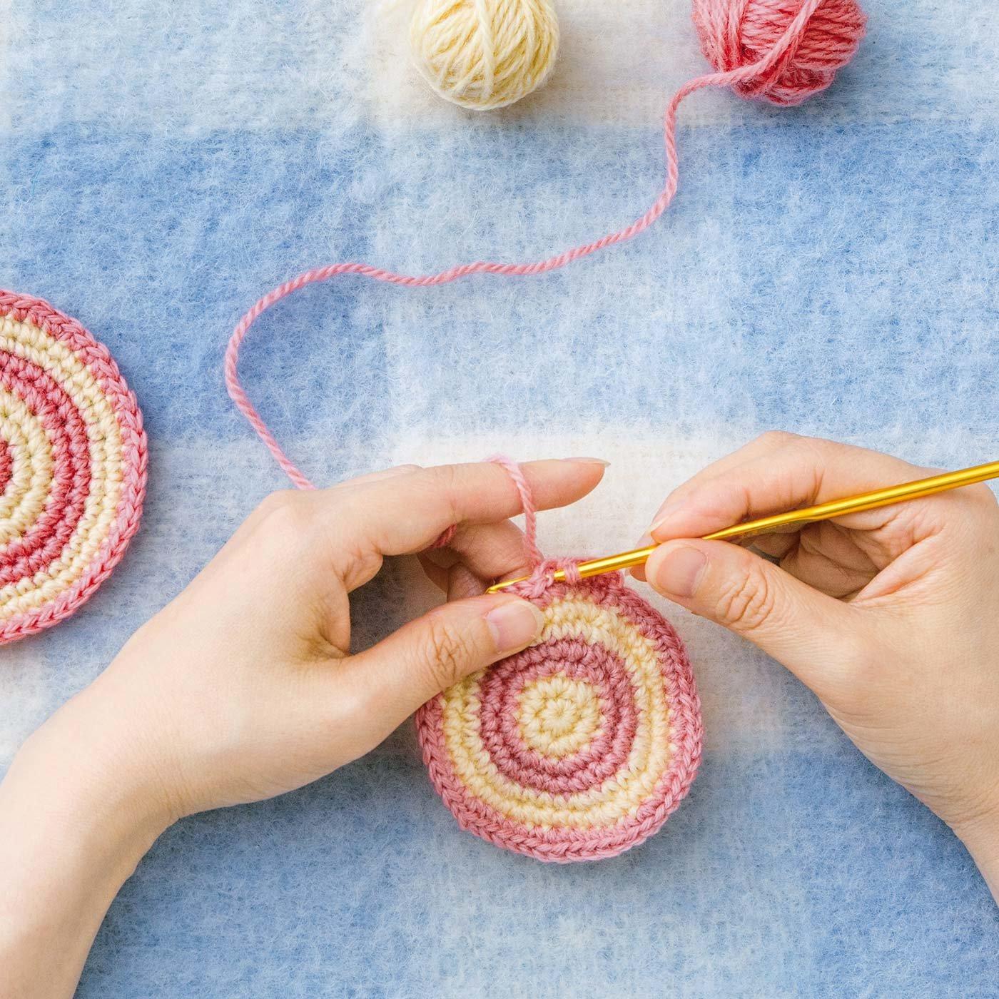 「はじめてさんのきほんのき」かぎ針編みレッスン