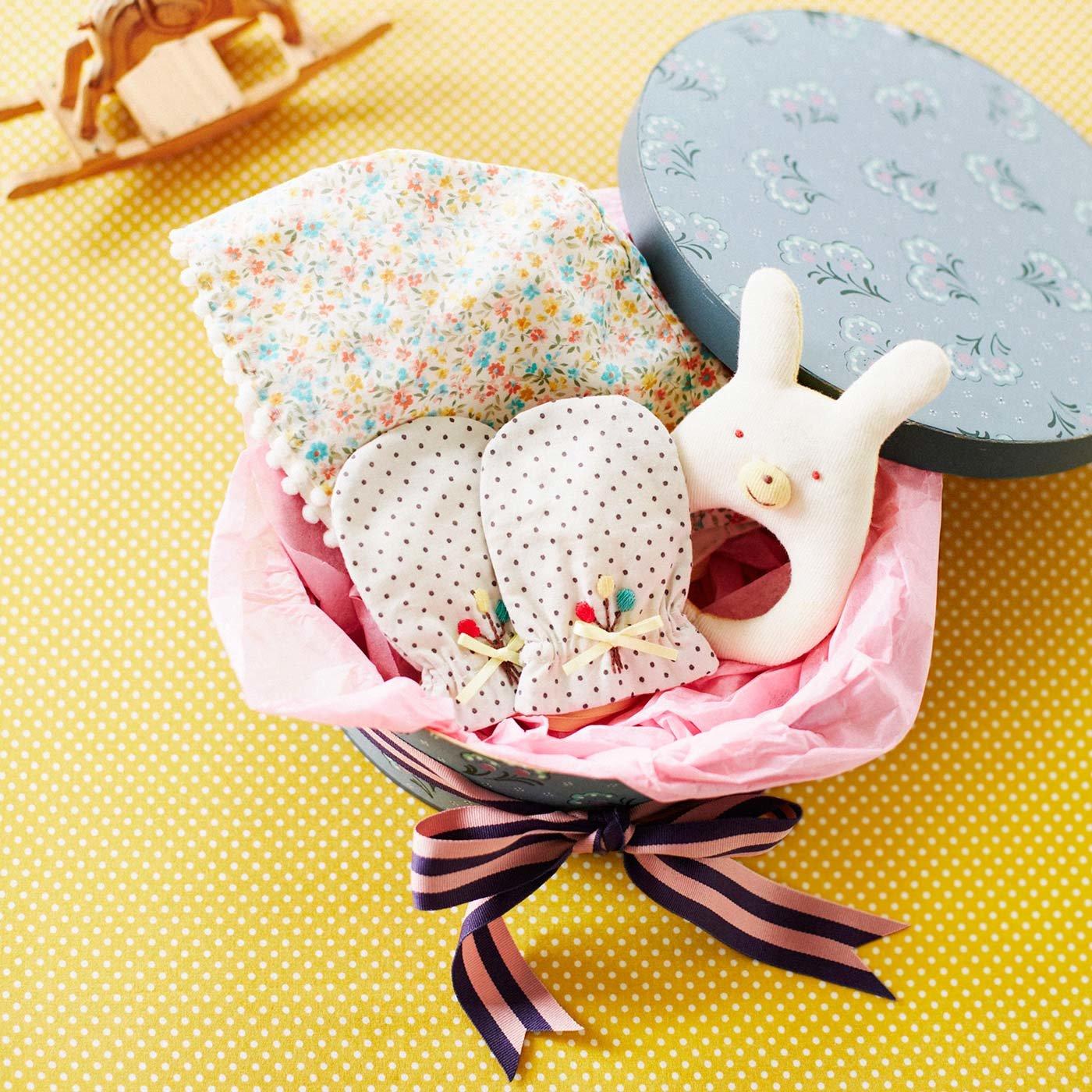 ご対面の日を夢見てちくちく 簡単に作れてすぐ使えるベビー小物