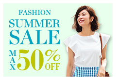 FASHION SUMMER SALE MAX50%OFF