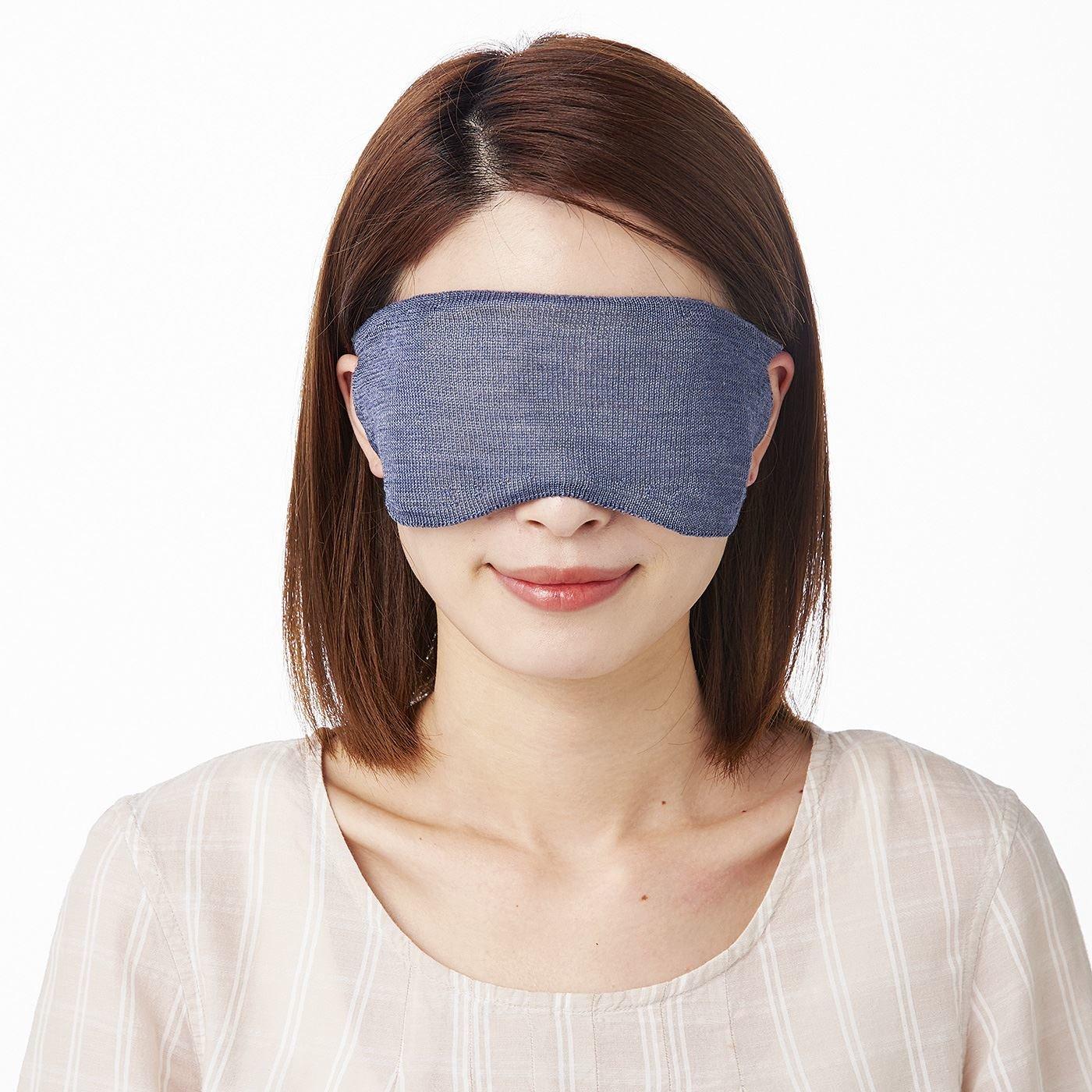 こだわり絹の積層仕立て ホールガーメント(R) あたためアイマスクの会