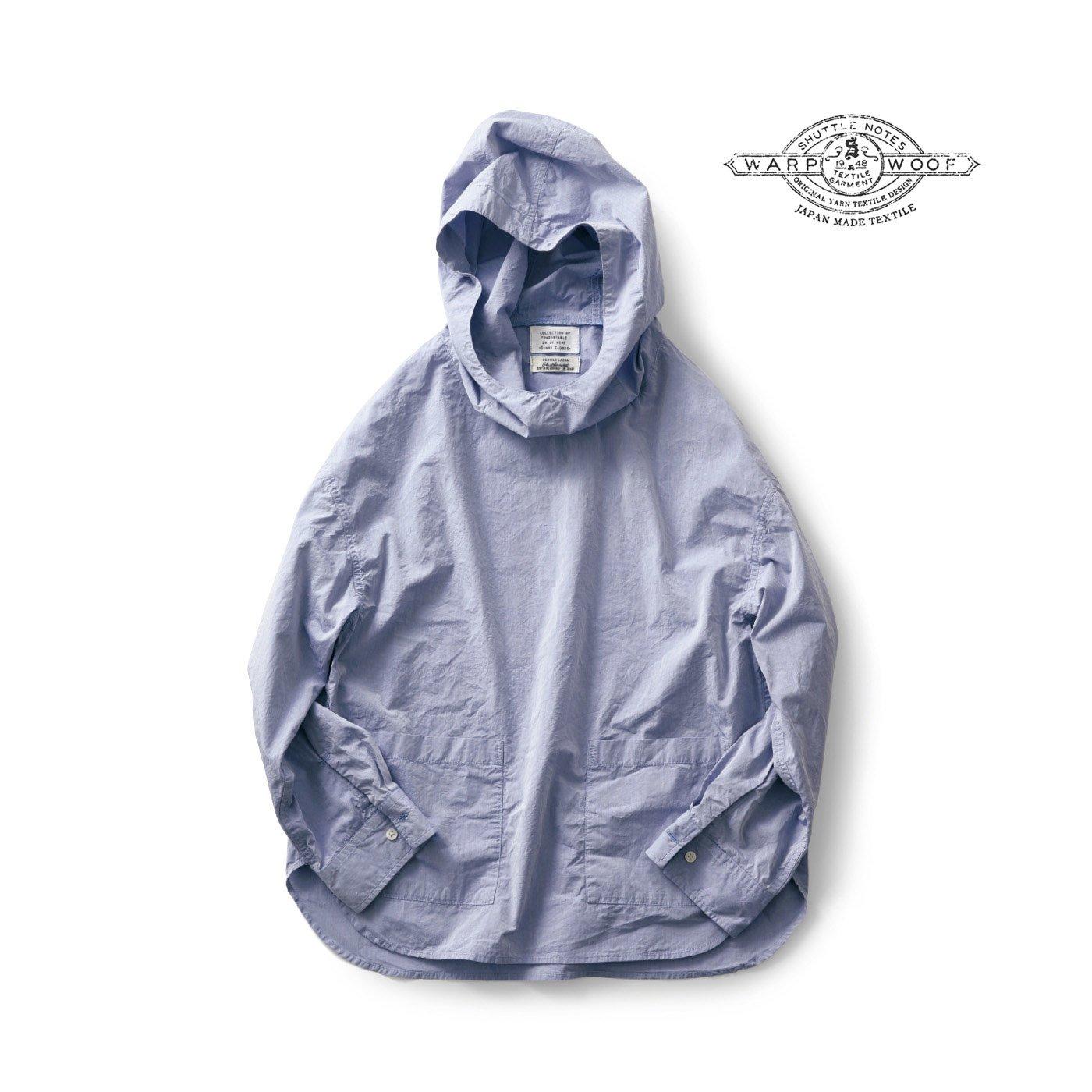 サニークラウズ feat. Shuttle Notes パーカーシャツ〈レディース〉