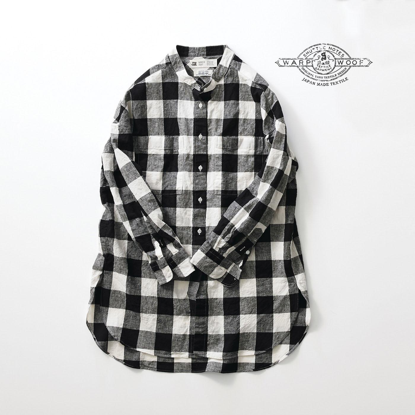 サニークラウズ feat. Shuttle Notes 十八番のギンガムワンピシャツ〈レディース〉