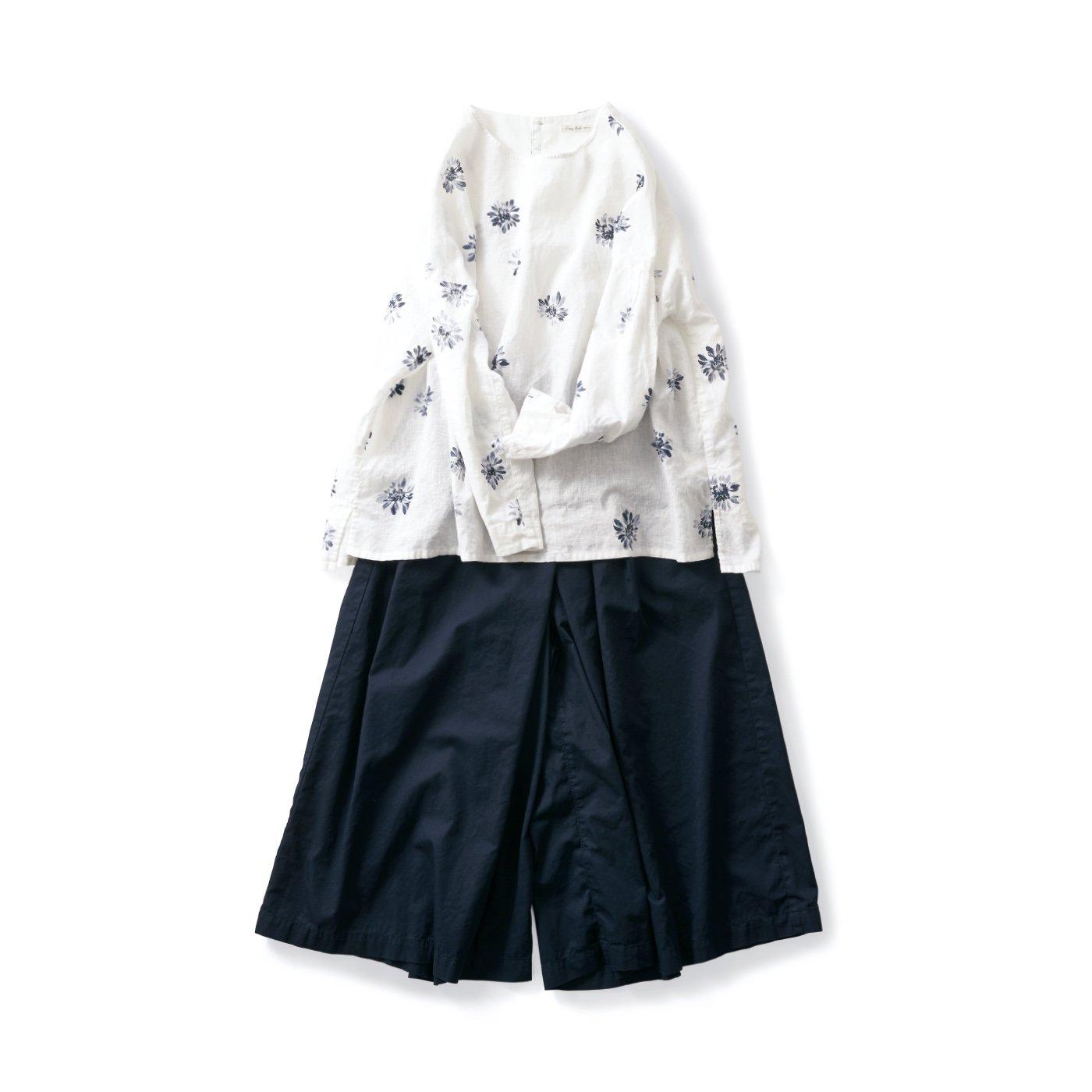 サニークラウズ 花柄な津田さんコーディネイト〈レディース〉