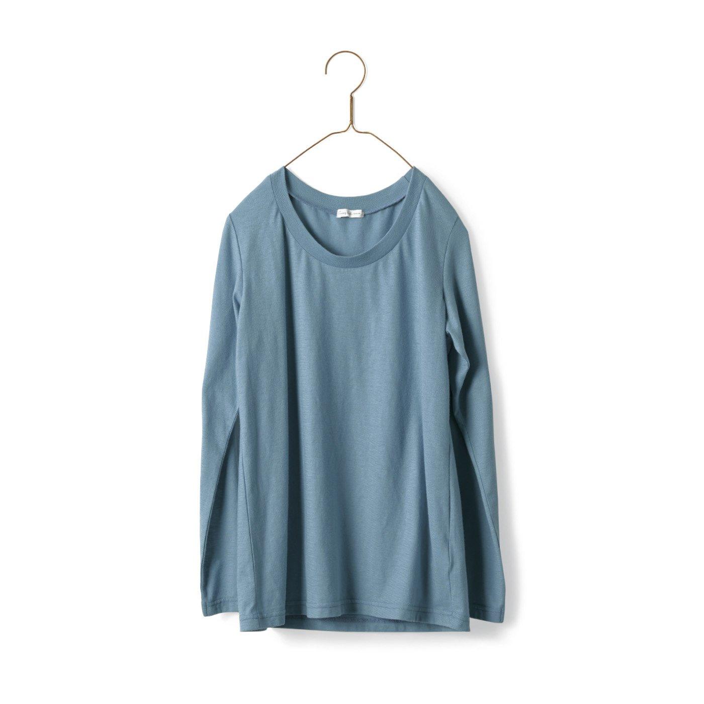 サニークラウズ 極薄ガーゼTシャツ〈レディース〉