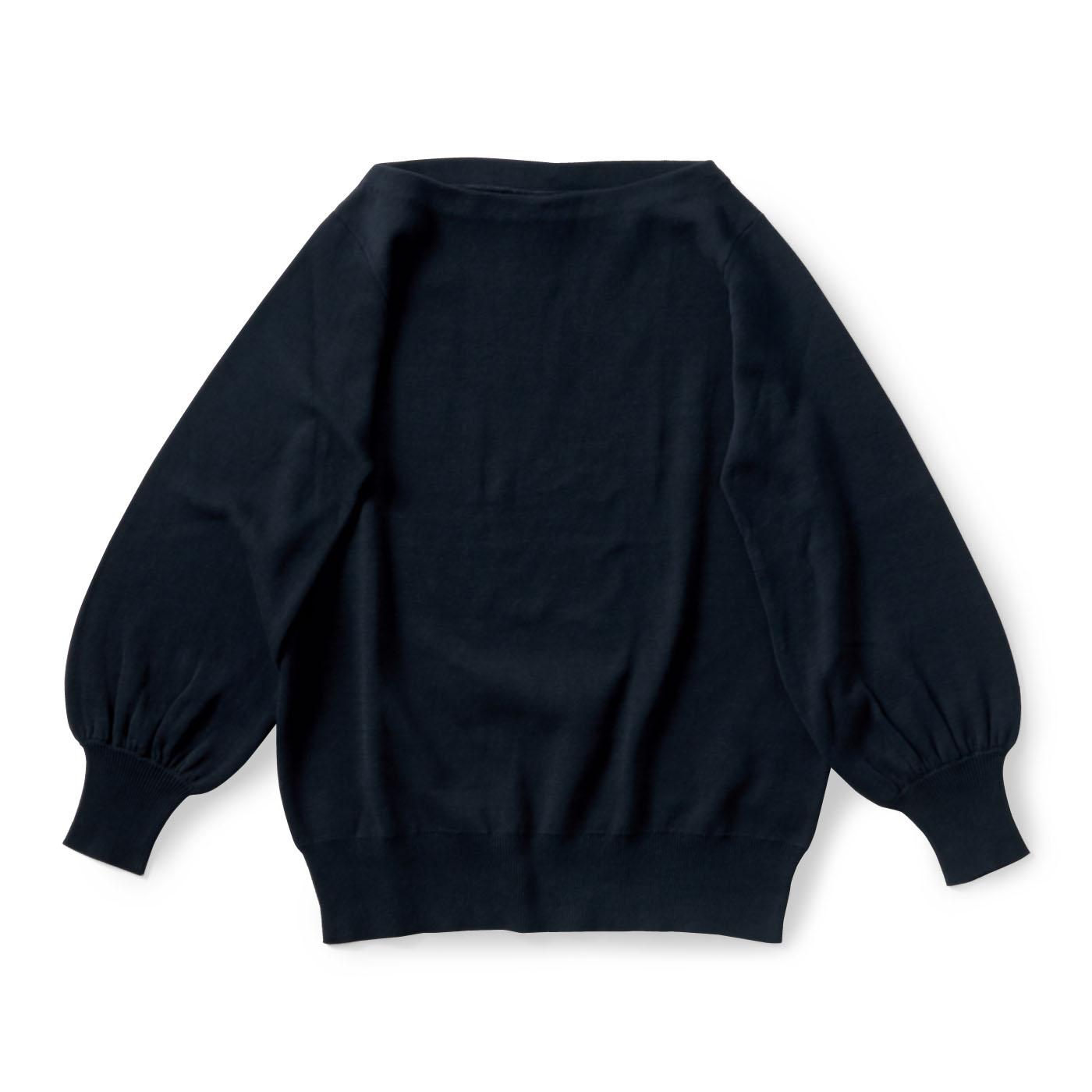 フェリシモ and myera ボートネックセーター