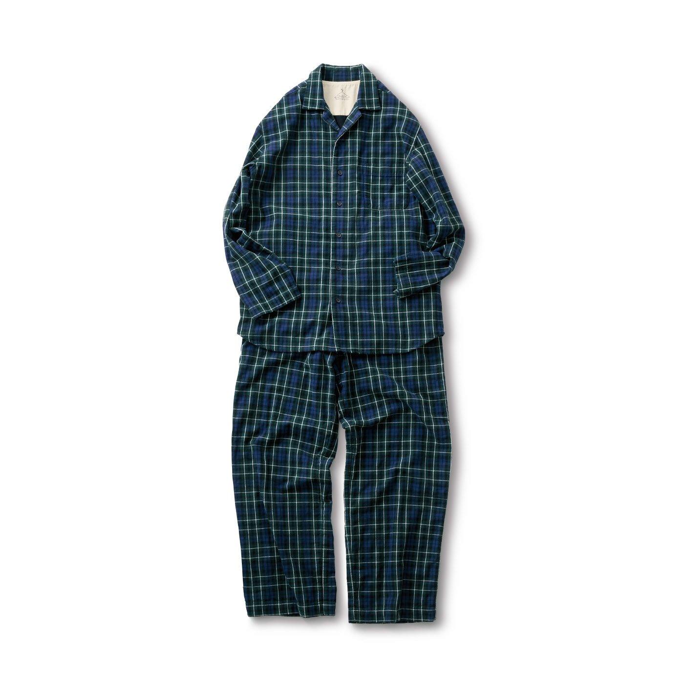 サニークラウズ チェックのパジャマ〈メンズ〉