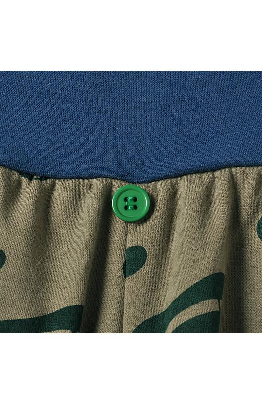 ボタンは前の目印。