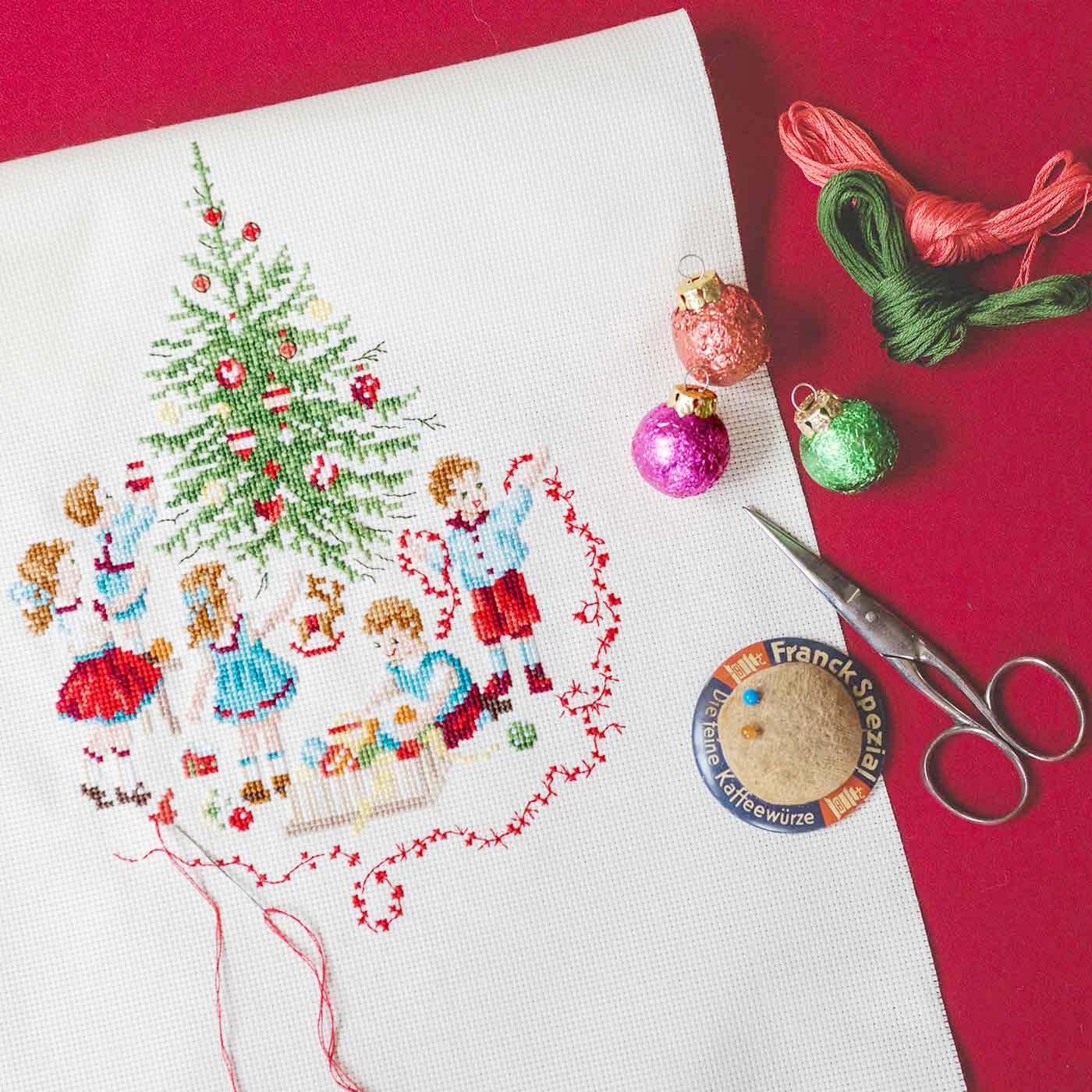 『La magie de NOEL』~クリスマスの魔法~の表紙作品が作れる 材料セット