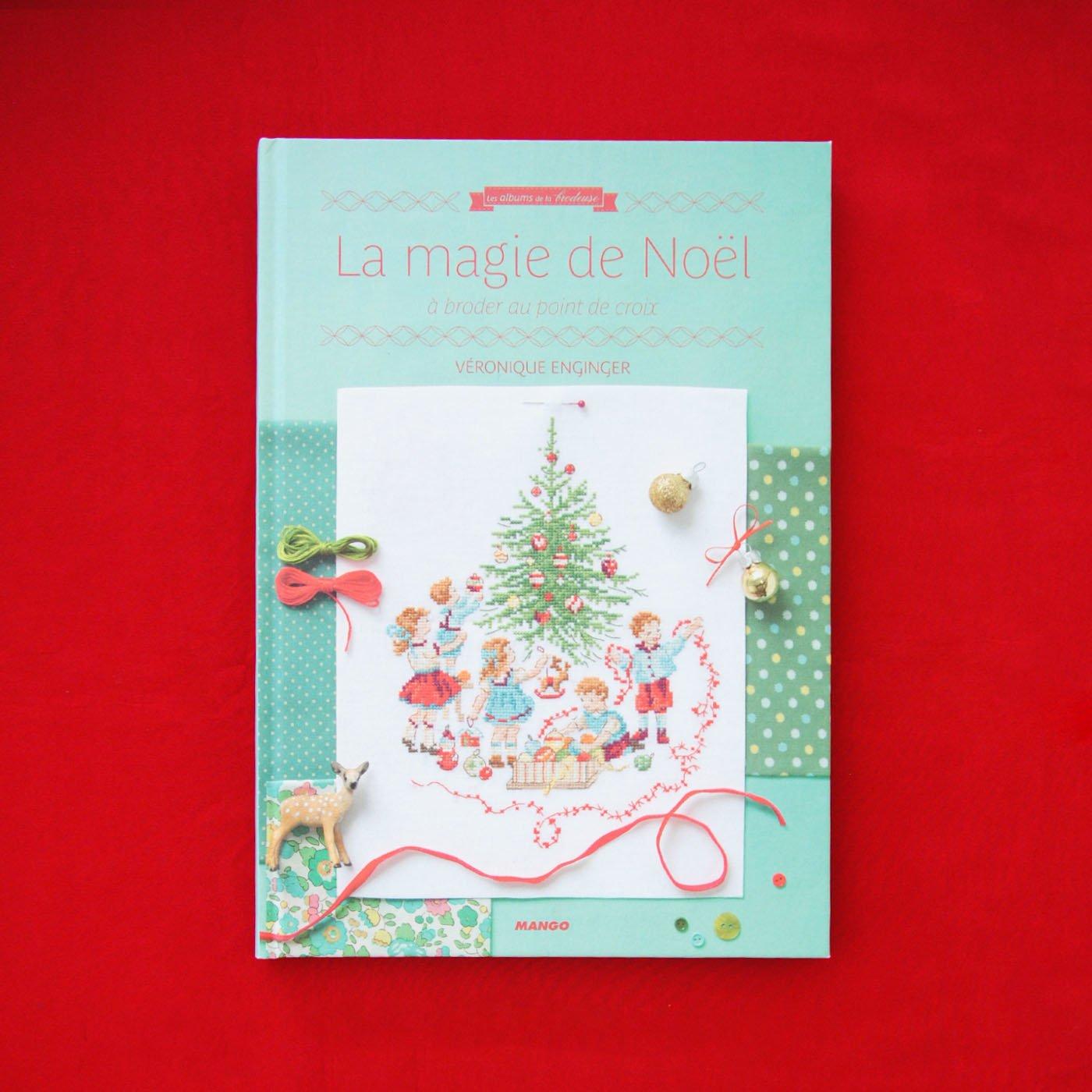 クロスステッチ図案集『La magie de NOEL』~クリスマスの魔法~