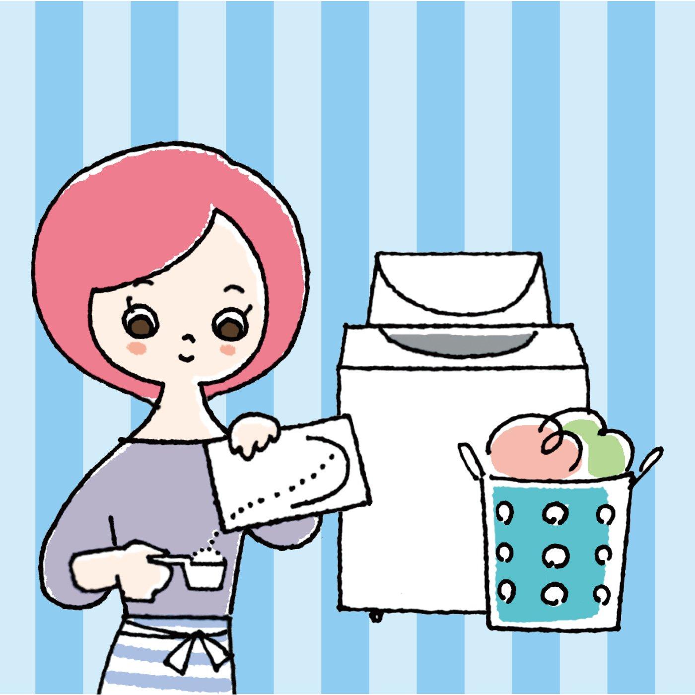 ニオイのリセットから衣類ケアまでマスター ナチュラルお洗濯プログラム[7回予約プログラム]