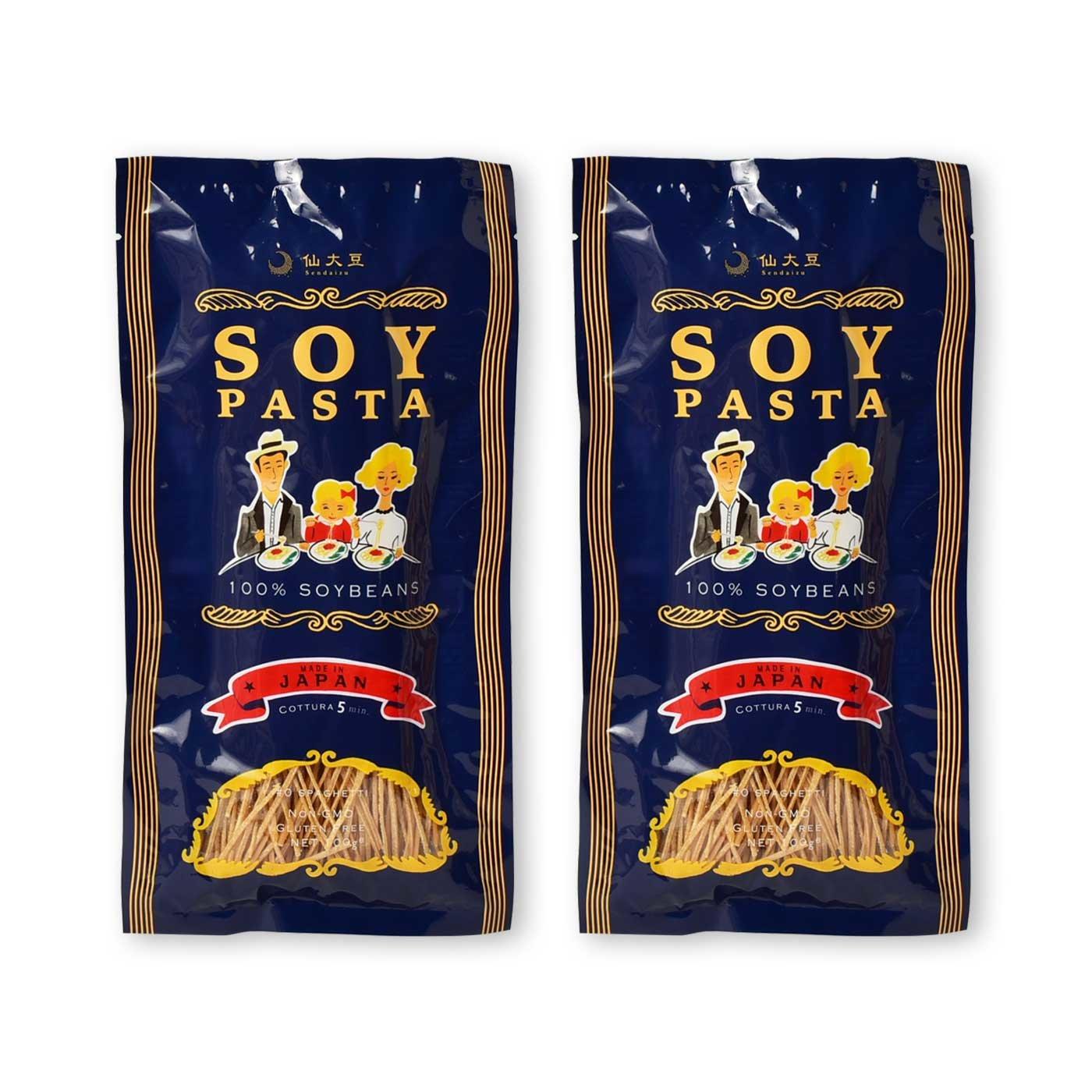 純農 糖質OFFの味方 パスタ好きさんのソイパスタ 2個セットの会