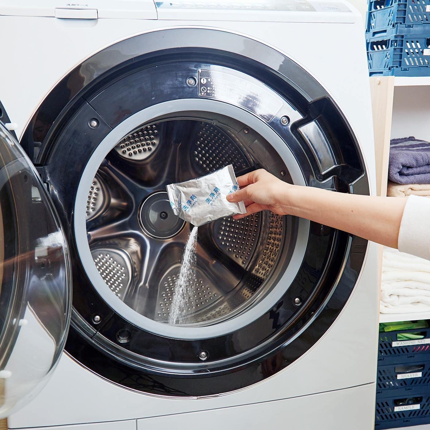 月に1回のきれい習慣! 泡もこもこ ドラム式洗濯槽クリーナーの会