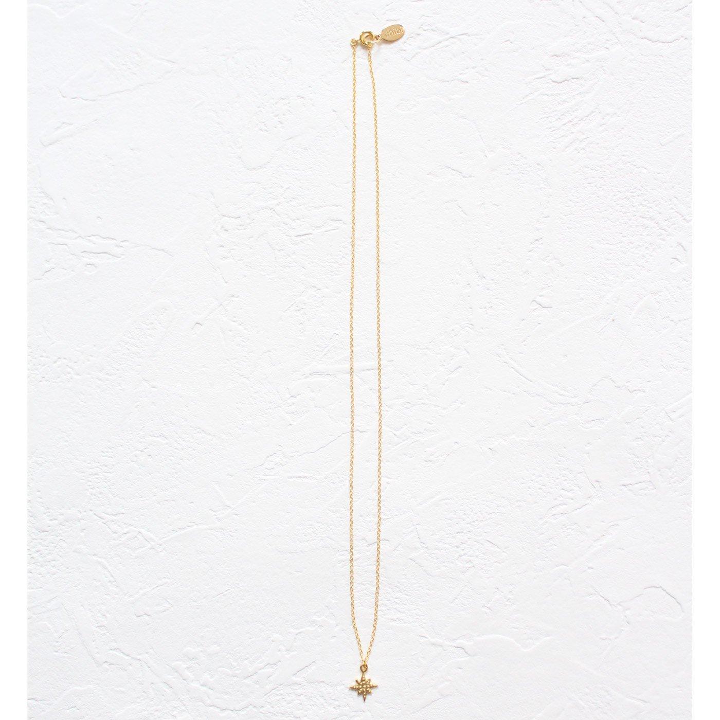 IEDIT[イディット] SELECT chibi jewelsスターモチーフネックレス〈ゴールド〉