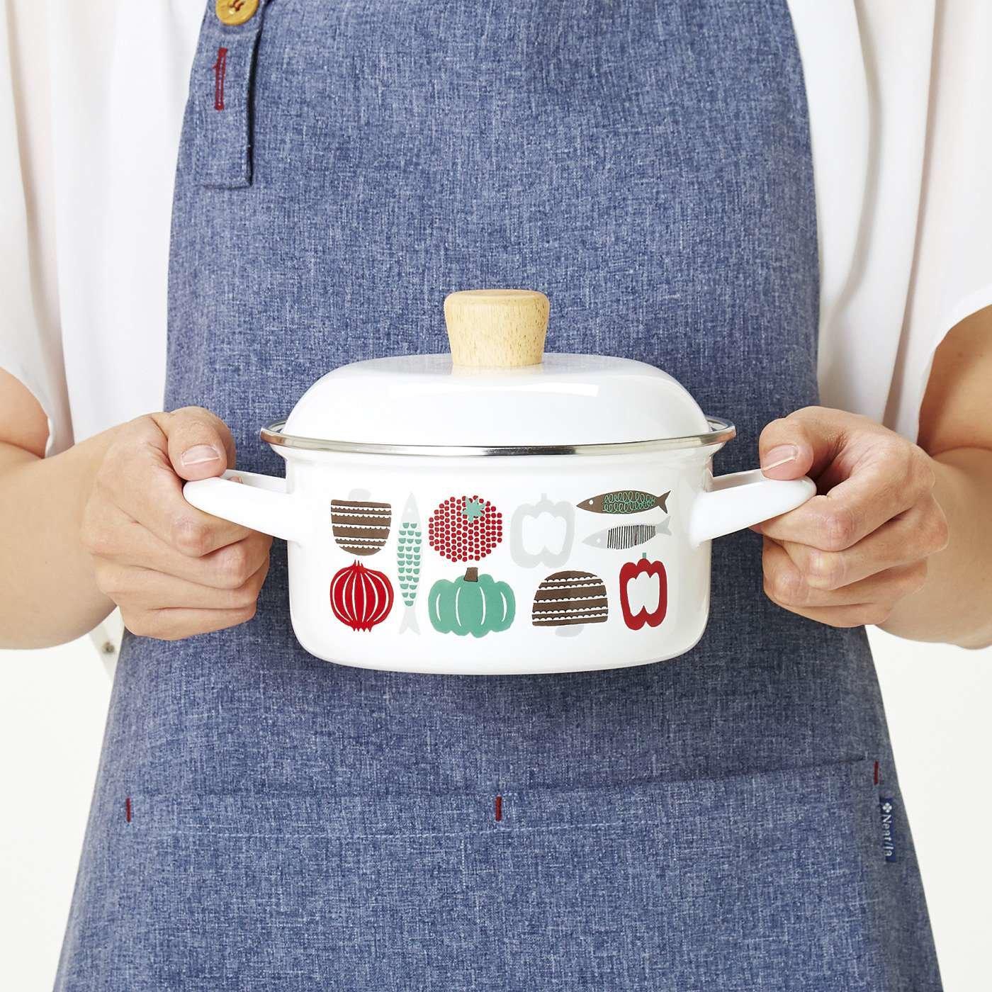 ちょこっと調理&保存にちょうどいい!ひとり鍋もできるミニ鍋