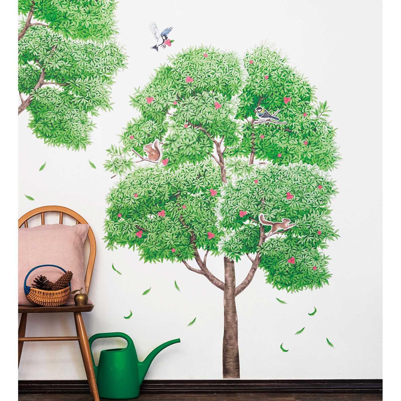 YOU+MORE! わが家のシンボルツリー 大きな木になるウォールシールの会