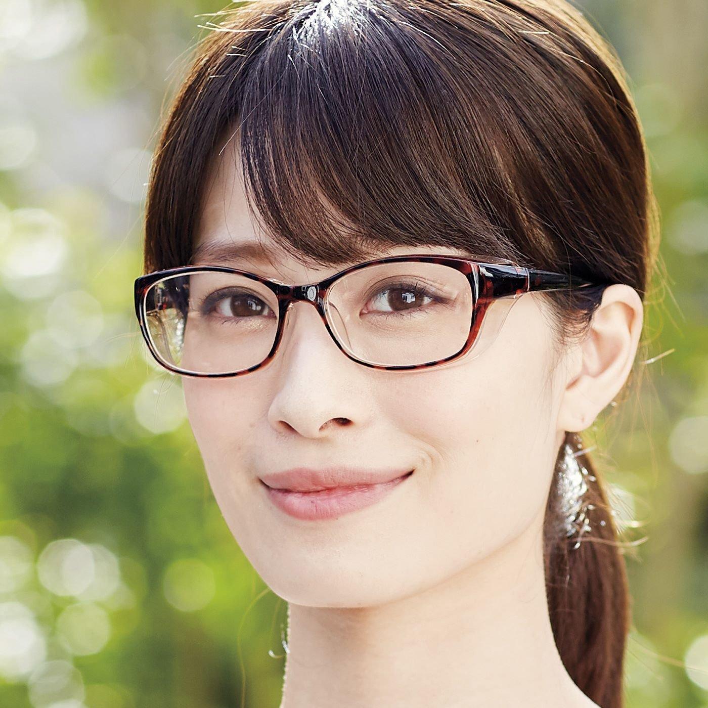透明フードでカバー! 普通の眼鏡に見える花粉対策UVカットサングラス