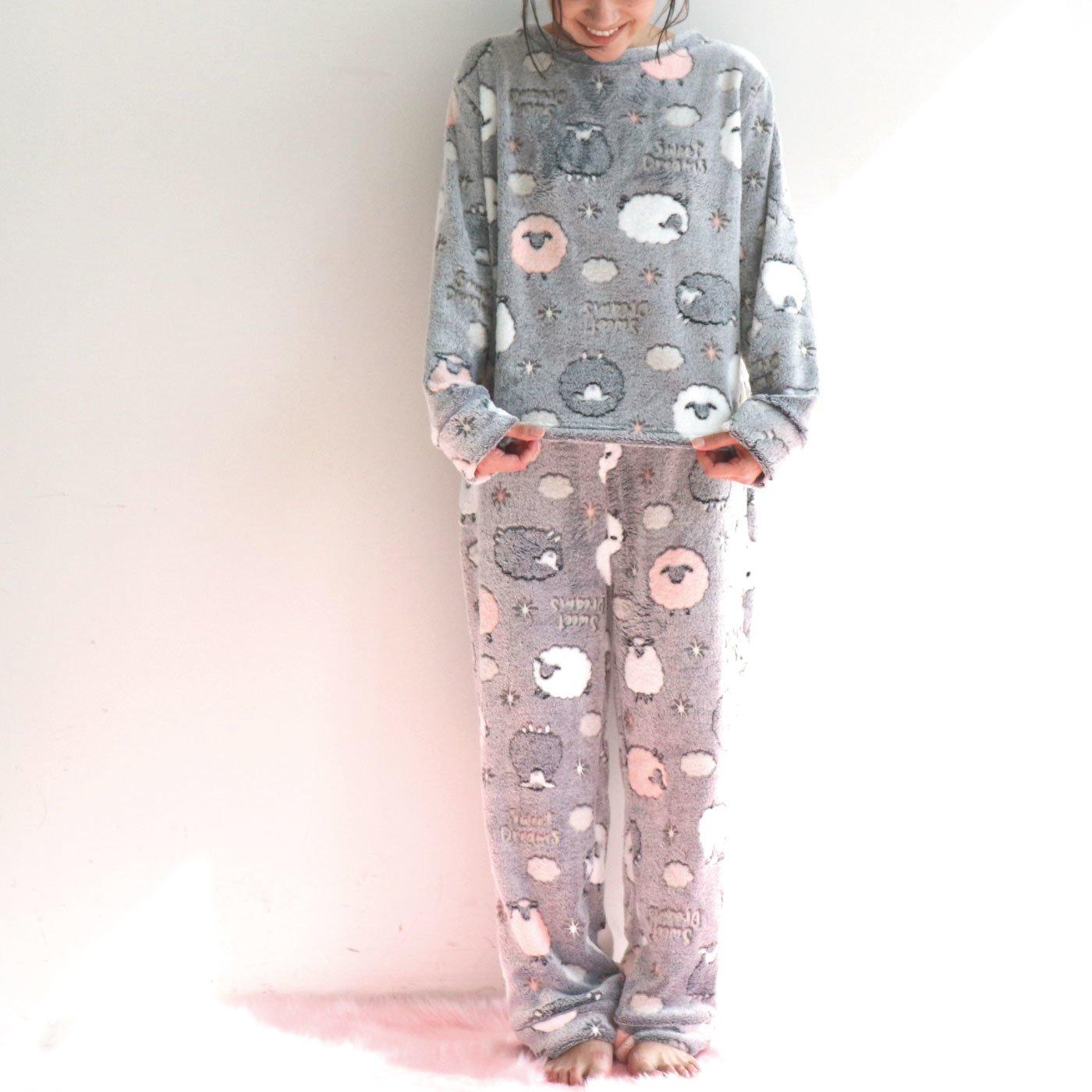 エンボスボア ゆったりパジャマ