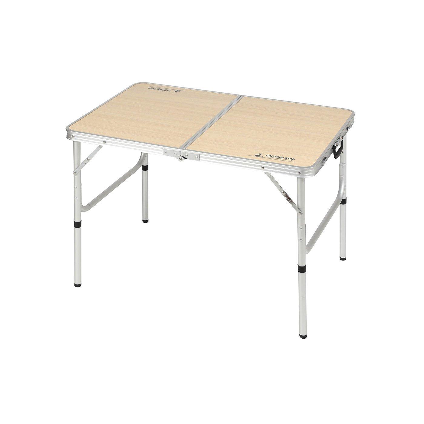 高さ2段階調節が可能! 持ち運び便利な折りたたみテーブル〈2~4人用〉