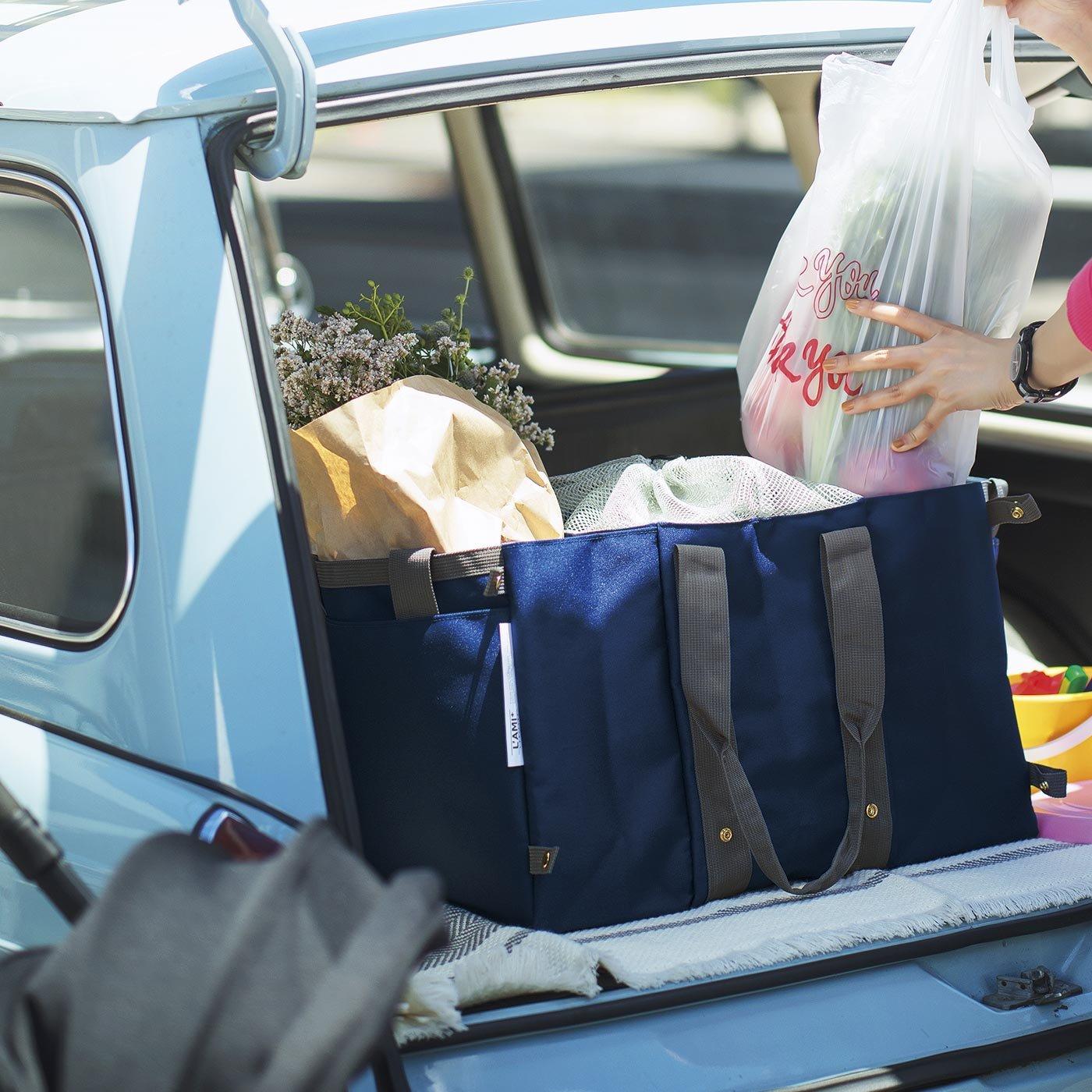 大量の荷物を一気に運べる ググンと広がるビッグバッグの会