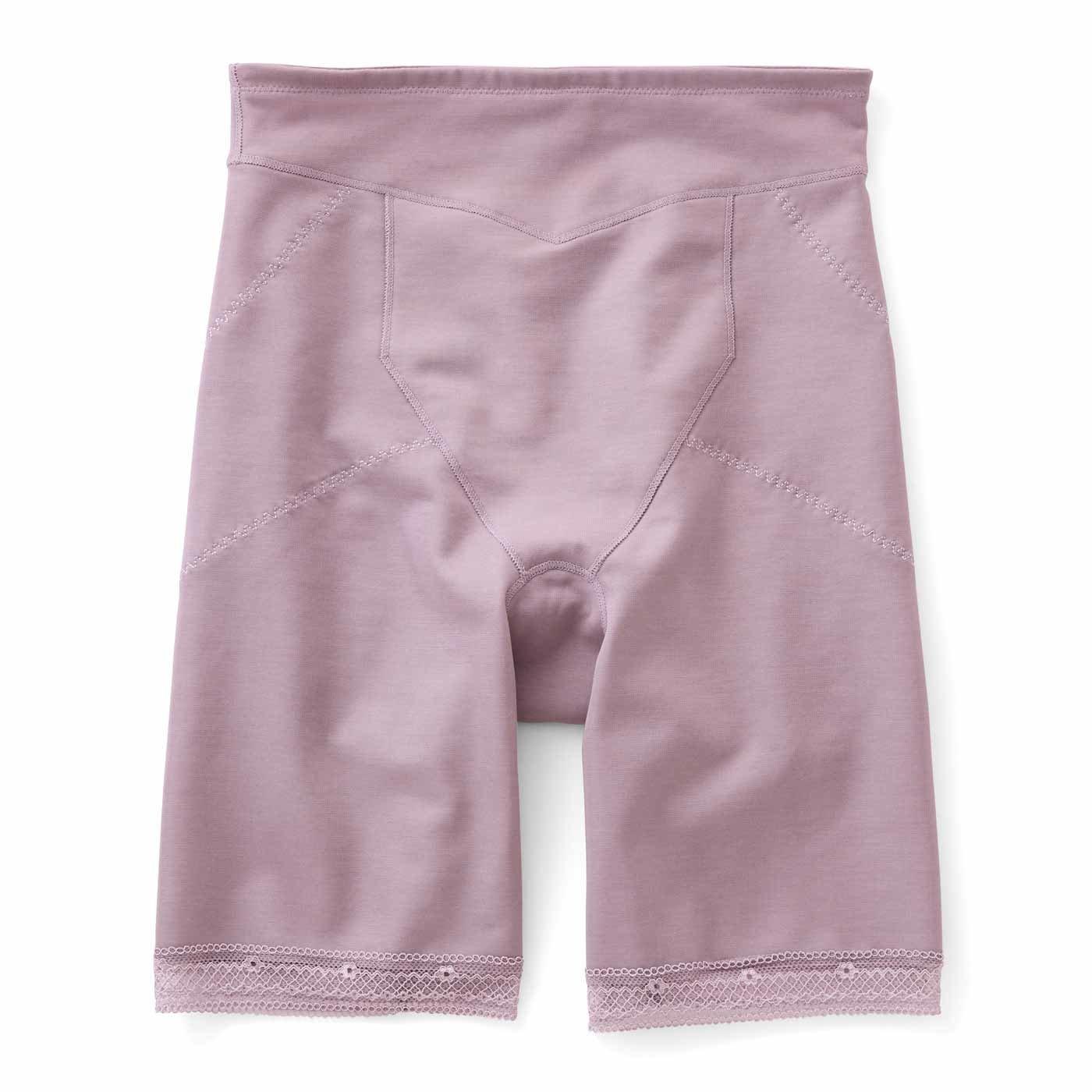 細見えでふんわりスカート決まる ハイウエスト 綿混ガードルショーツの会