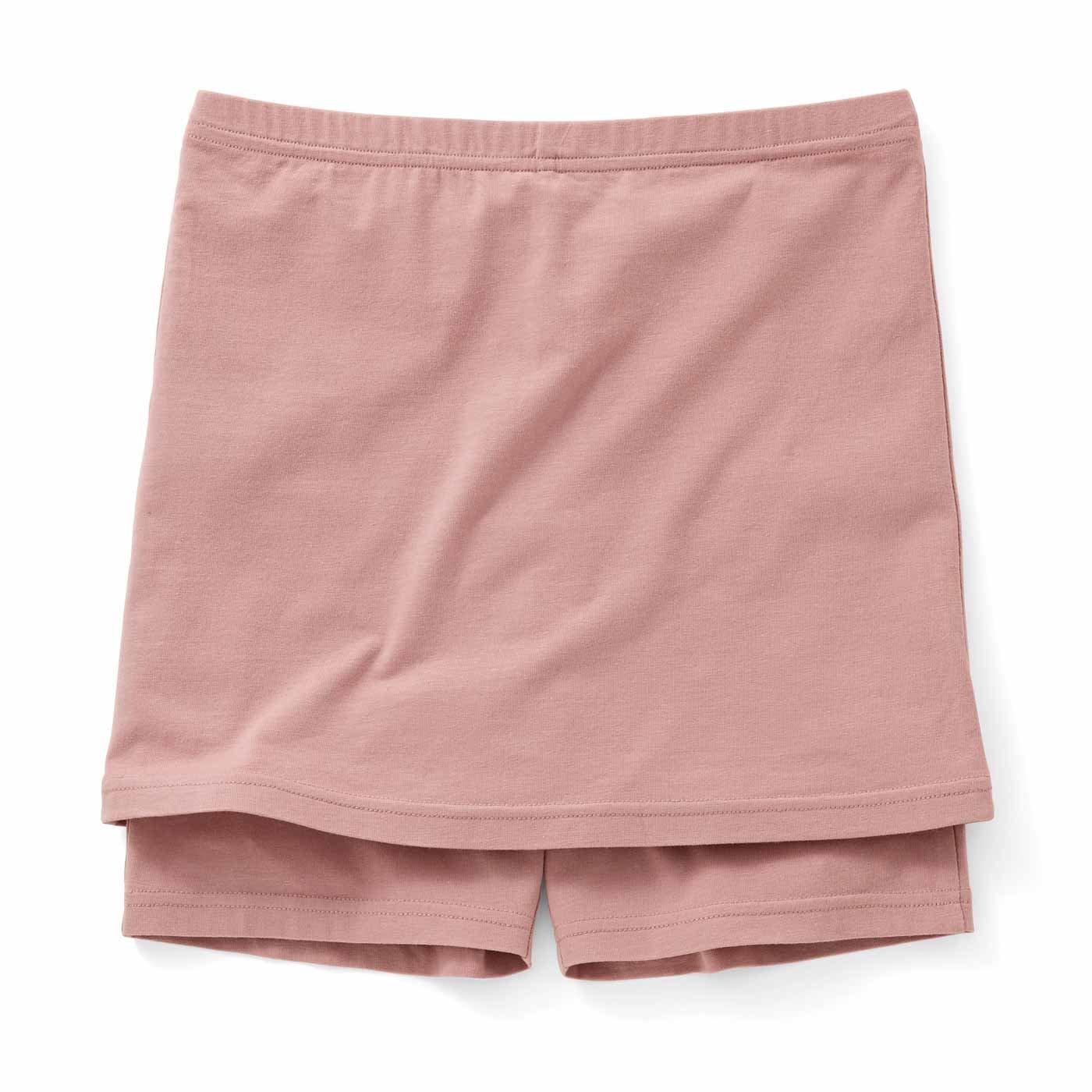 またのY字ラインをカバー スカート決まる ペチコート付きオーバーパンツの会