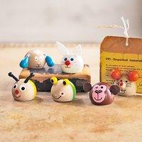 フェリシモ「コレクション」新規購入キャンペーン アフィリエイトプログラムフェリシモ チェコのおもちゃ職人と作った おとぼけアニマルのマグネット・カードスタンドの会