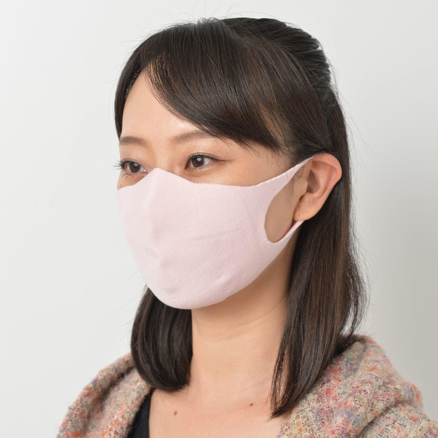 特殊編みニットでやわらかフィット 洗えるマスクの会