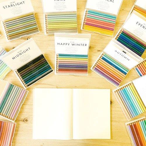 500色の色えんぴつグローバル一括販売