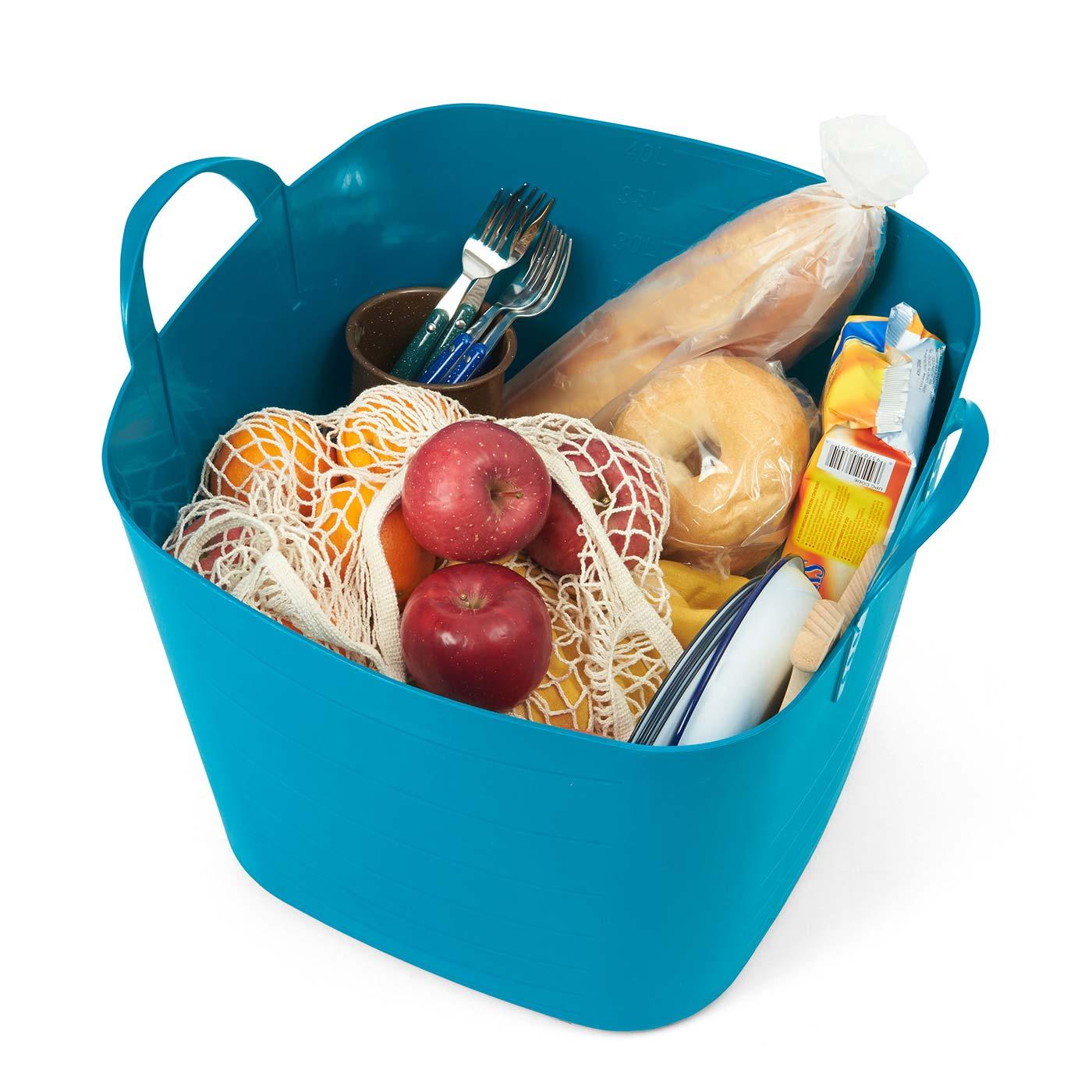 必要なものをガサッと入れるだけでピクニックの準備OK!
