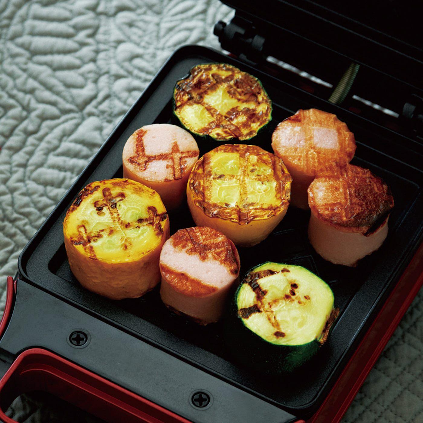 マフィンやバケット、野菜のグリルなどアレンジもOK!