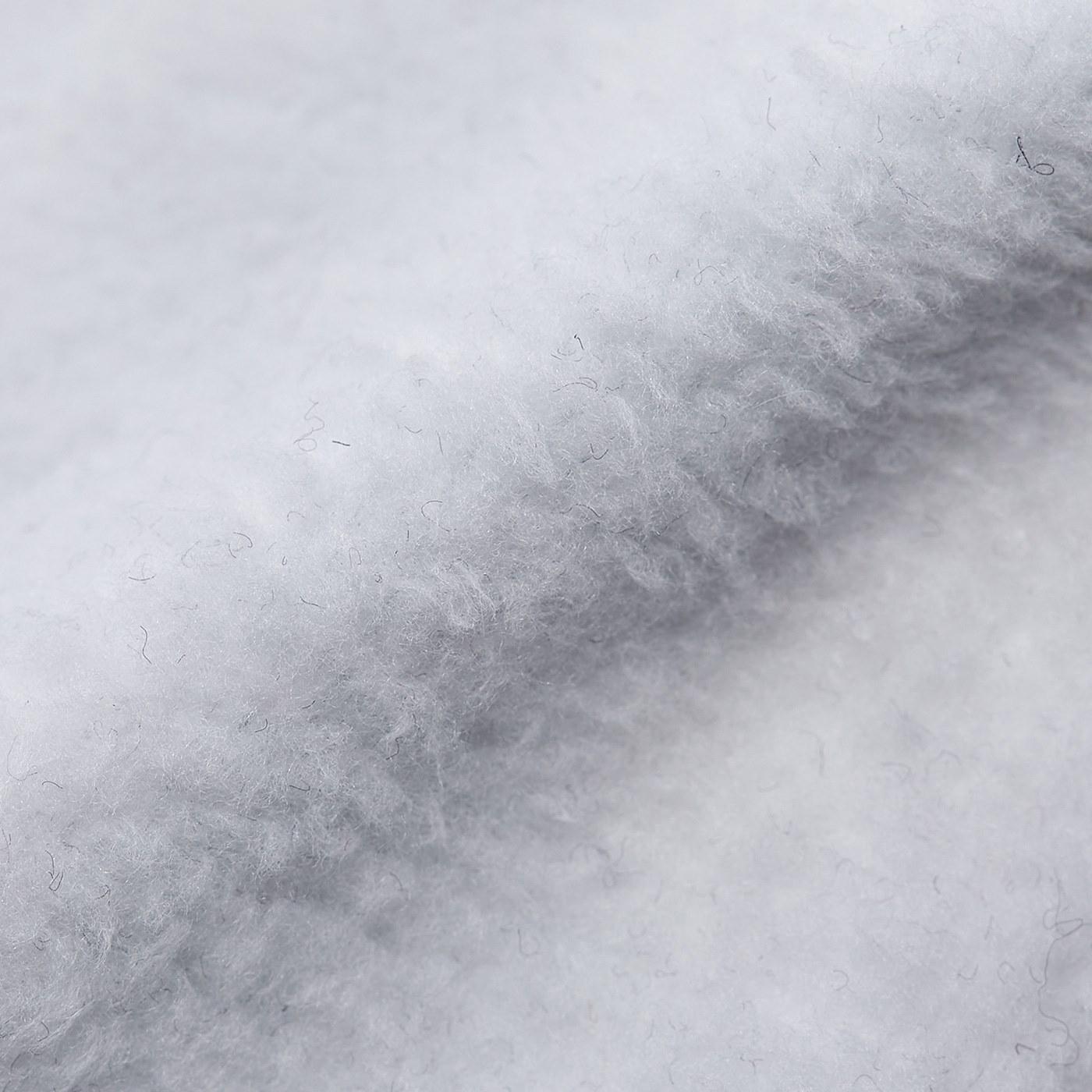 〈内生地〉甲部分の内側は裏毛素材で暖か。