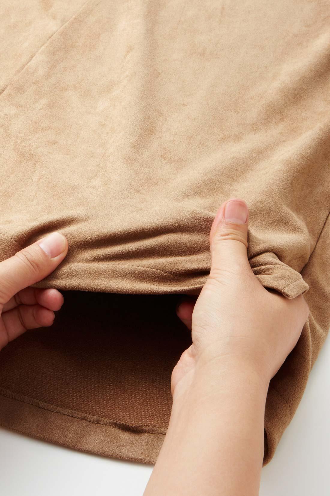 ストレッチがきいて伸びやか ぐんと伸びるから着心地もソフト。Tシャツ感覚で毎日着られます。 ※お届けするカラーとは異なります。