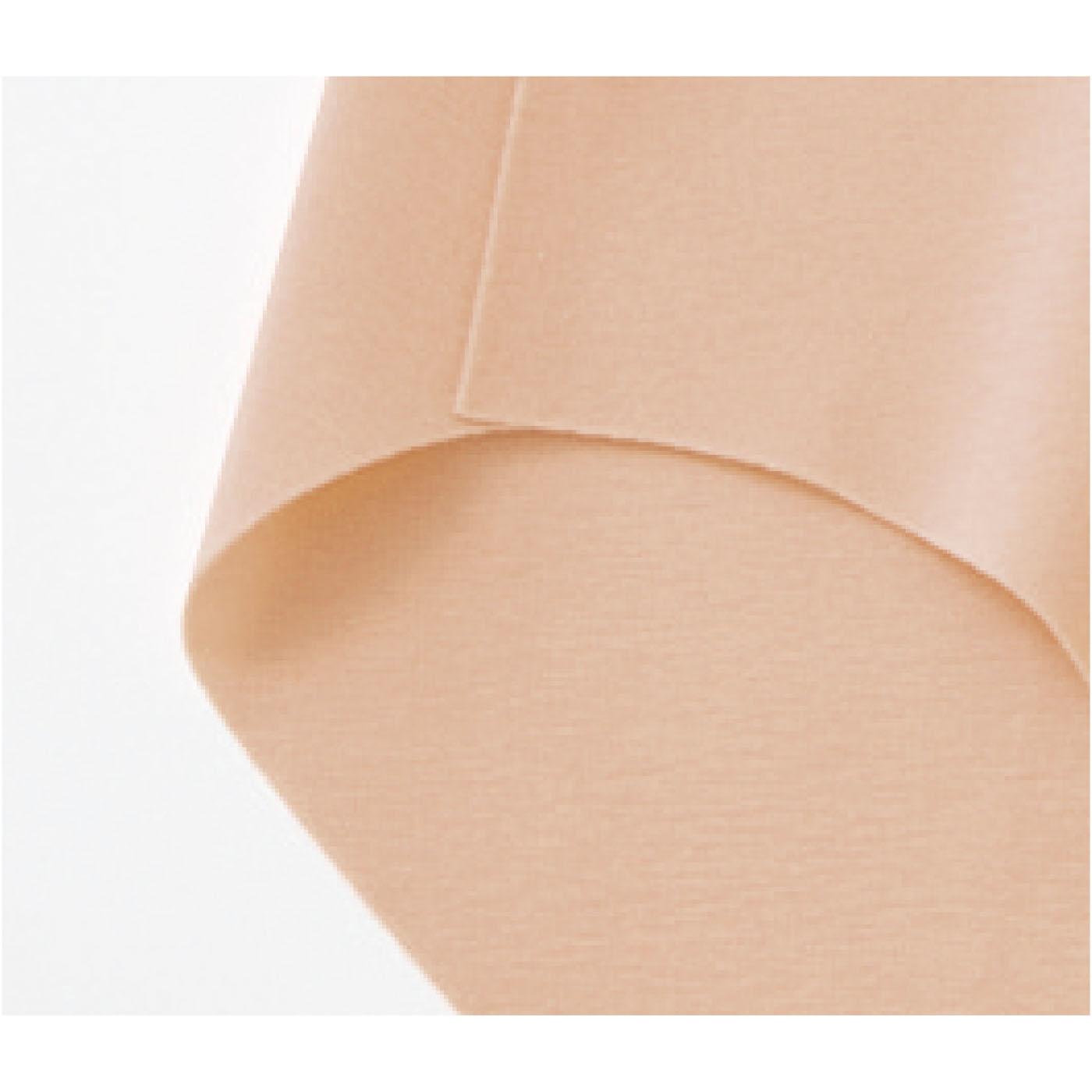 縫い目のない接着仕様(※完全無縫製(R))縫い目がないので肌への負担が少なく、ウエストや脚口などの段差もできにくい仕様です。※完全無縫製(R)はグンゼ株式会社の登録商標です。(写真はベージュです)