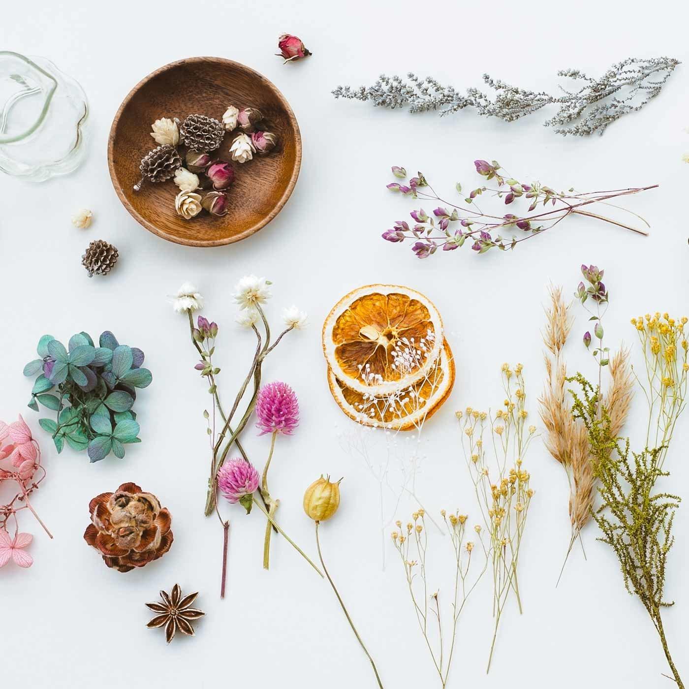 暮らしを彩るお花たち ドライ&プリザーブド アソートコレクションの会