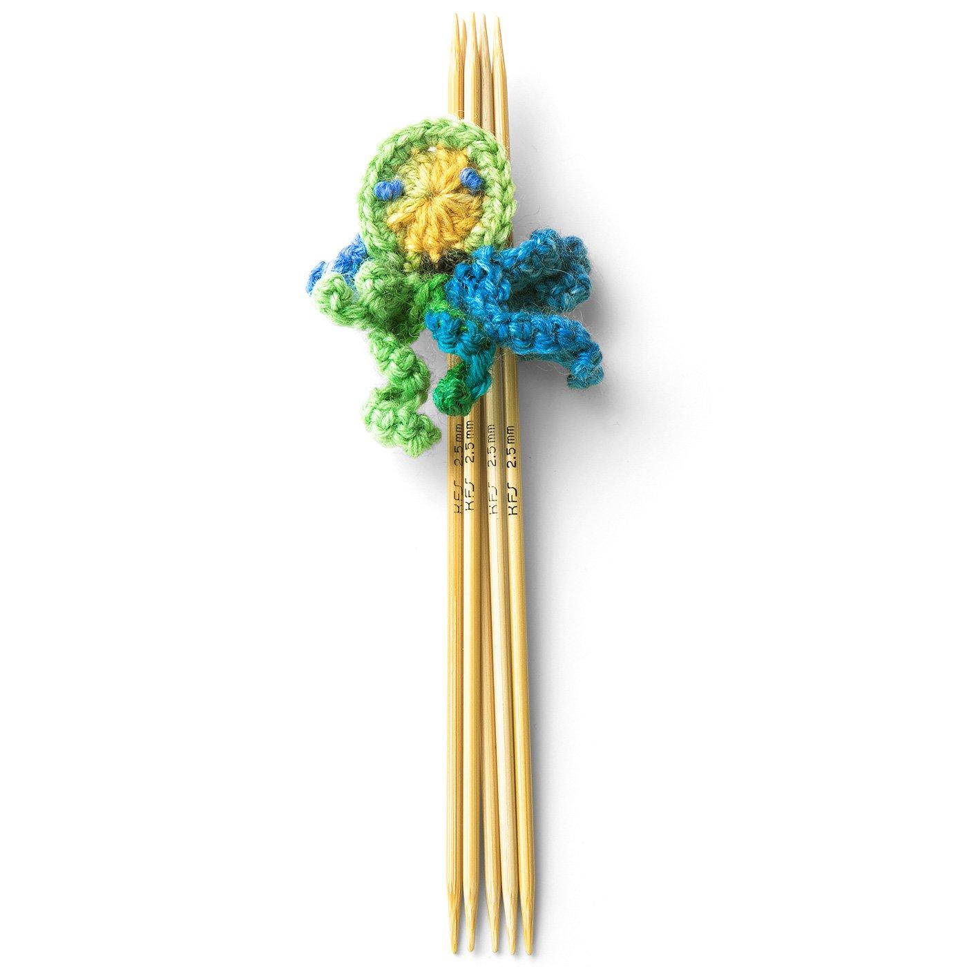 Opal毛糸のための5本棒針