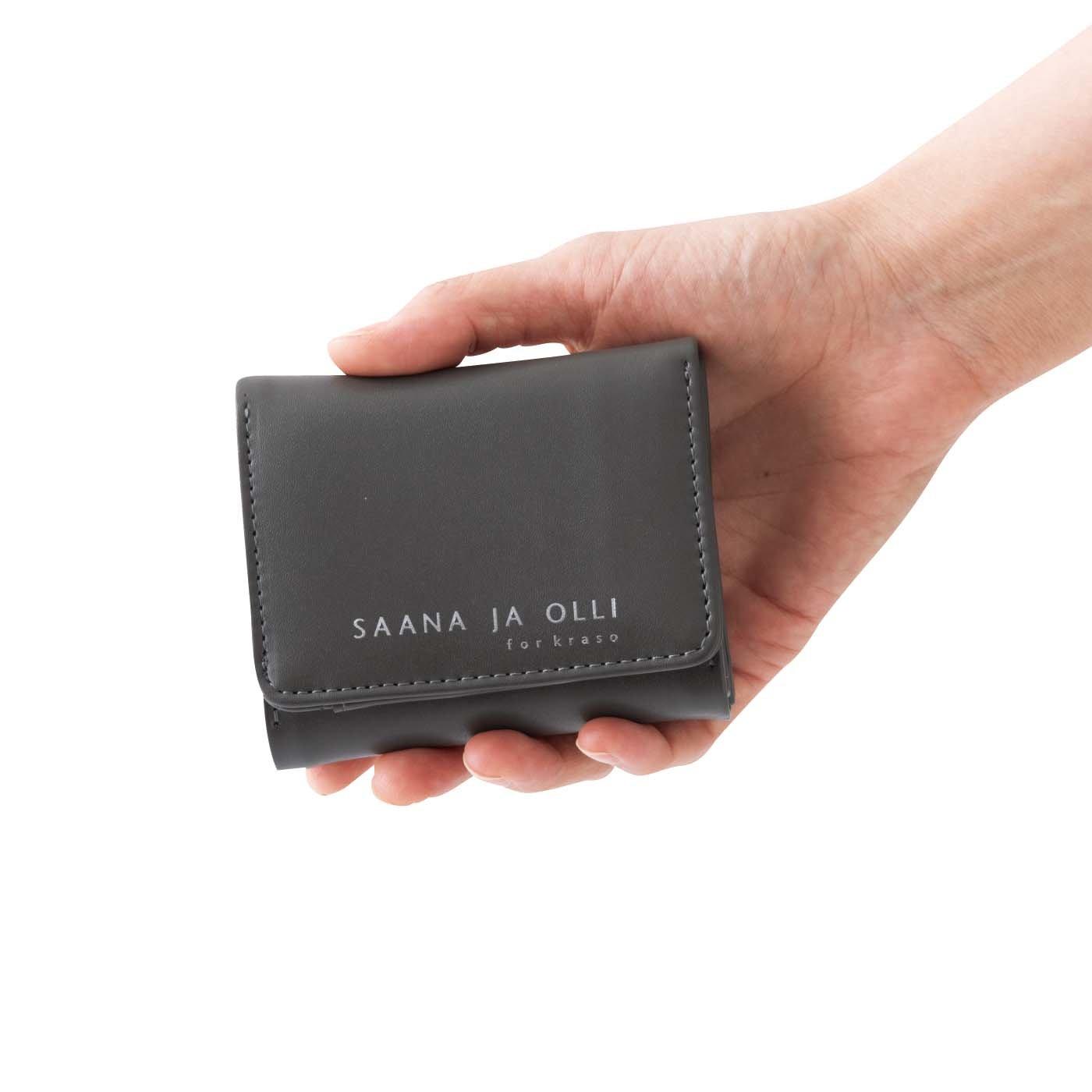 SAANA JA OLLI サーナ ヤ オッリ カードもお札もしっかり入るミニ財布の会