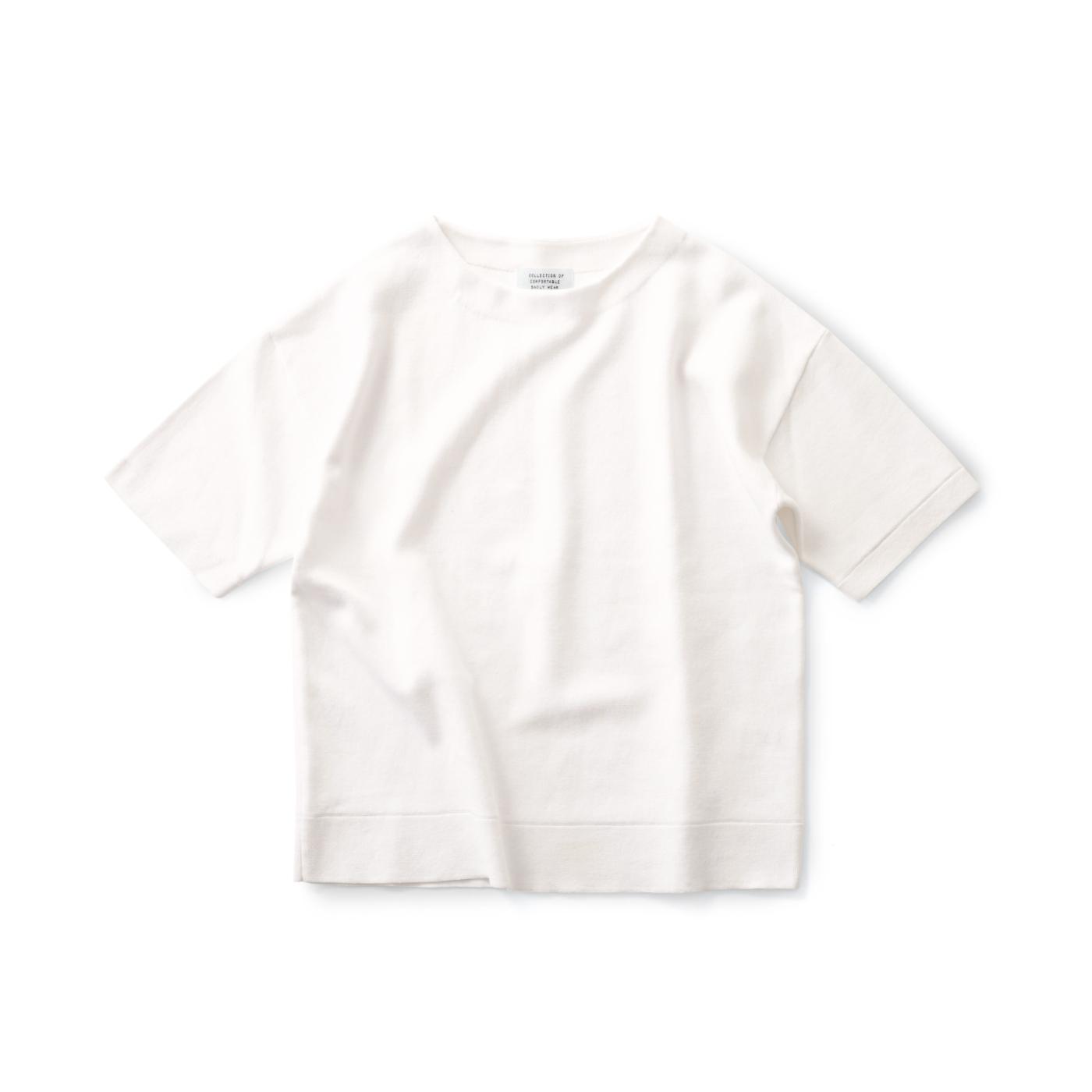サニークラウズ しっかりニットTシャツ