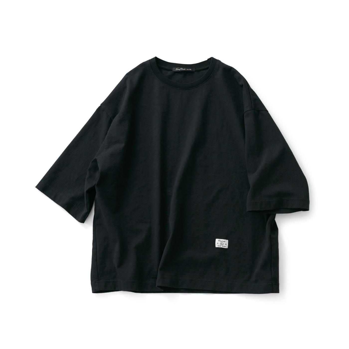 サニークラウズ ドデカいTシャツ黒