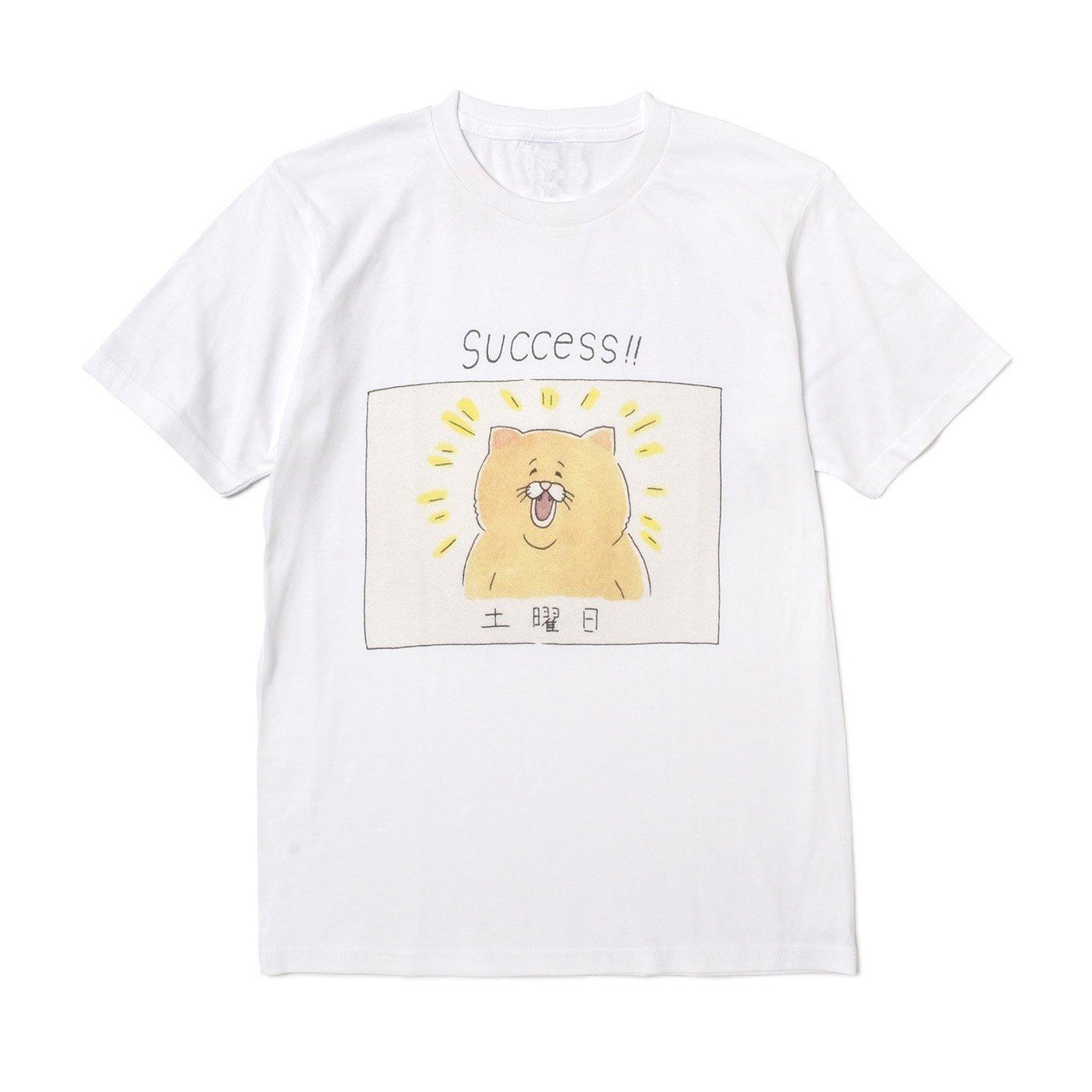 ネコノヒー 4コマ漫画「日」Tシャツの会