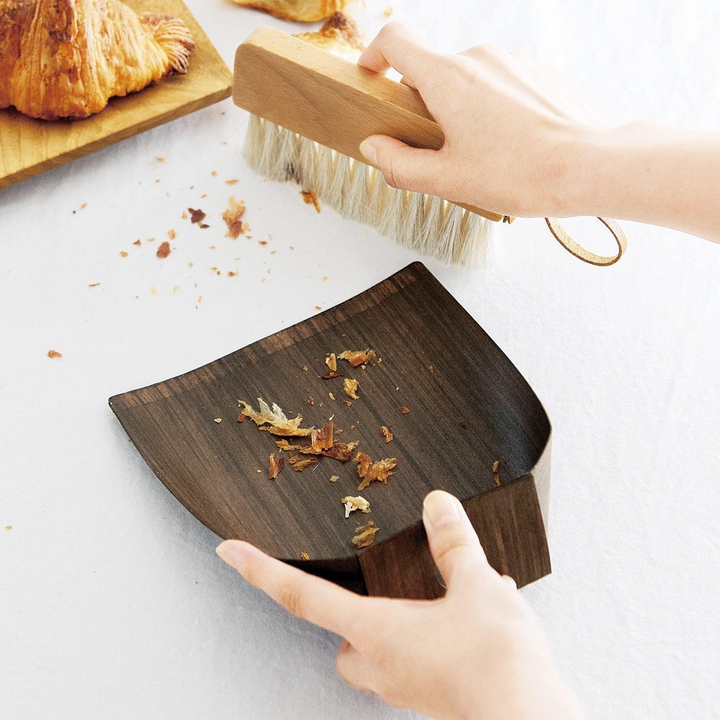 1/d Table brush set 卓上用ほうきちりとりセット