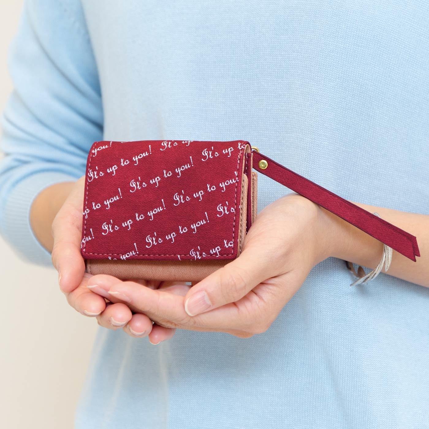 UP.de 心弾む♪ マカロンカラーのキーリング付き手のり財布の会