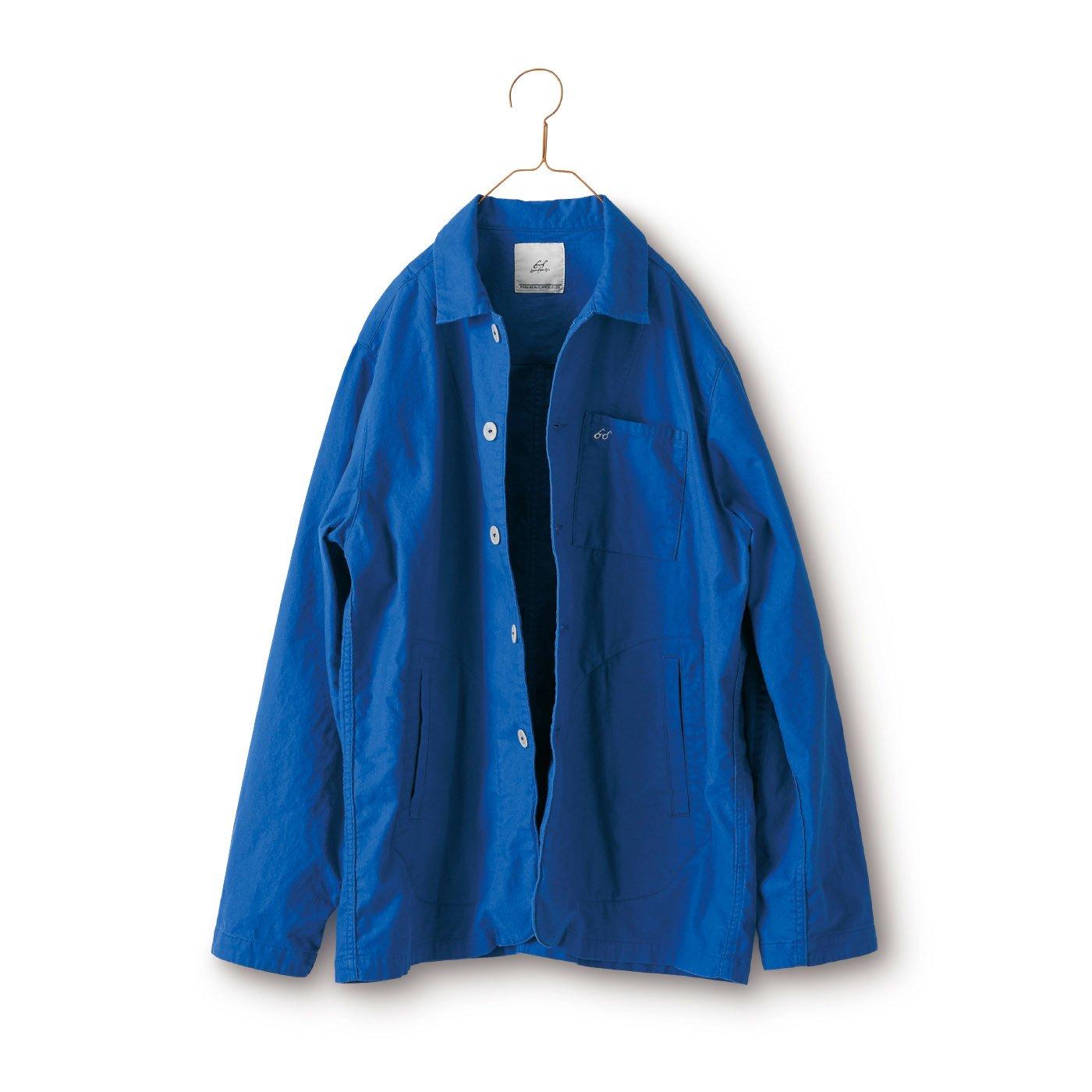 サニークラウズ bonさんのジャケットにもなるシャツ〈メンズ〉