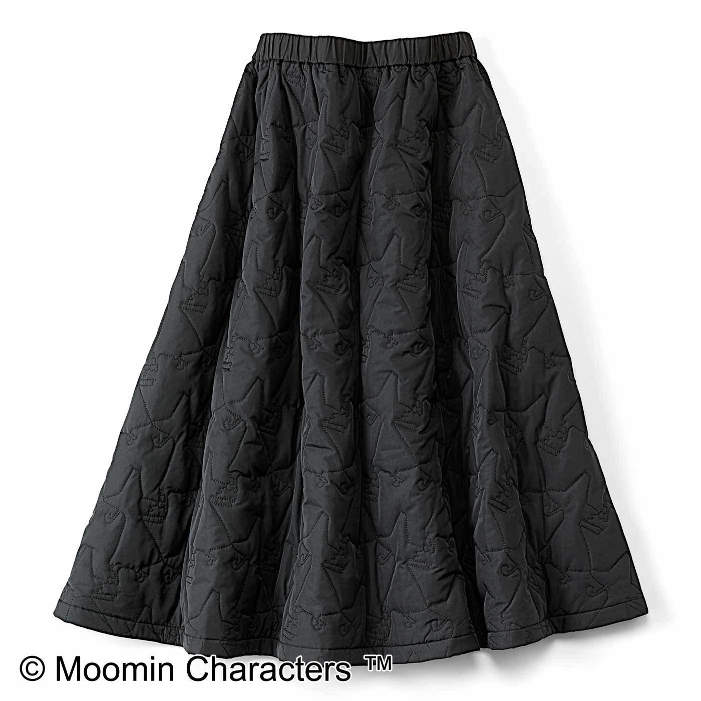 スナフキン くるっと回りたくなるキルティングスカート