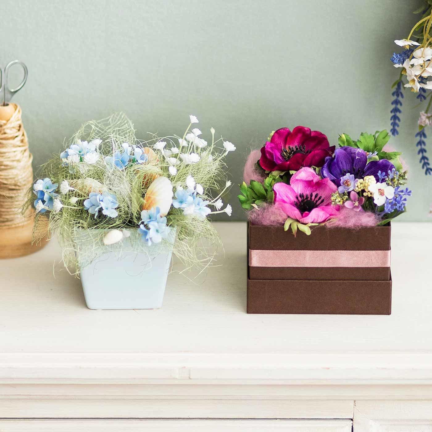 花のある生活を楽しむ 季節のフラワーアレンジメント