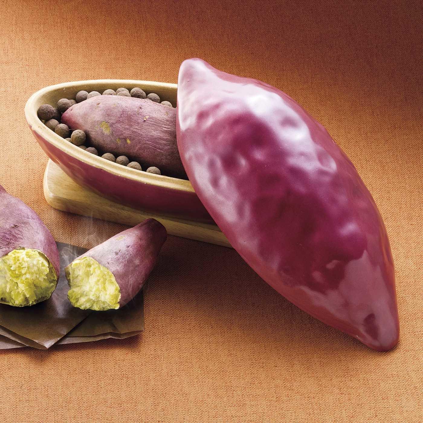 食べたくなったらすぐできる 電子レンジで簡単調理 魔法の焼き芋鍋