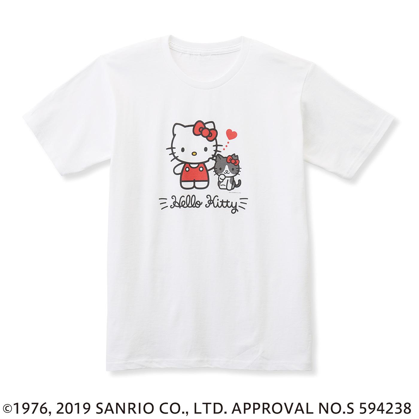猫部×ハローキティ 地域猫チャリティーTシャツ2019