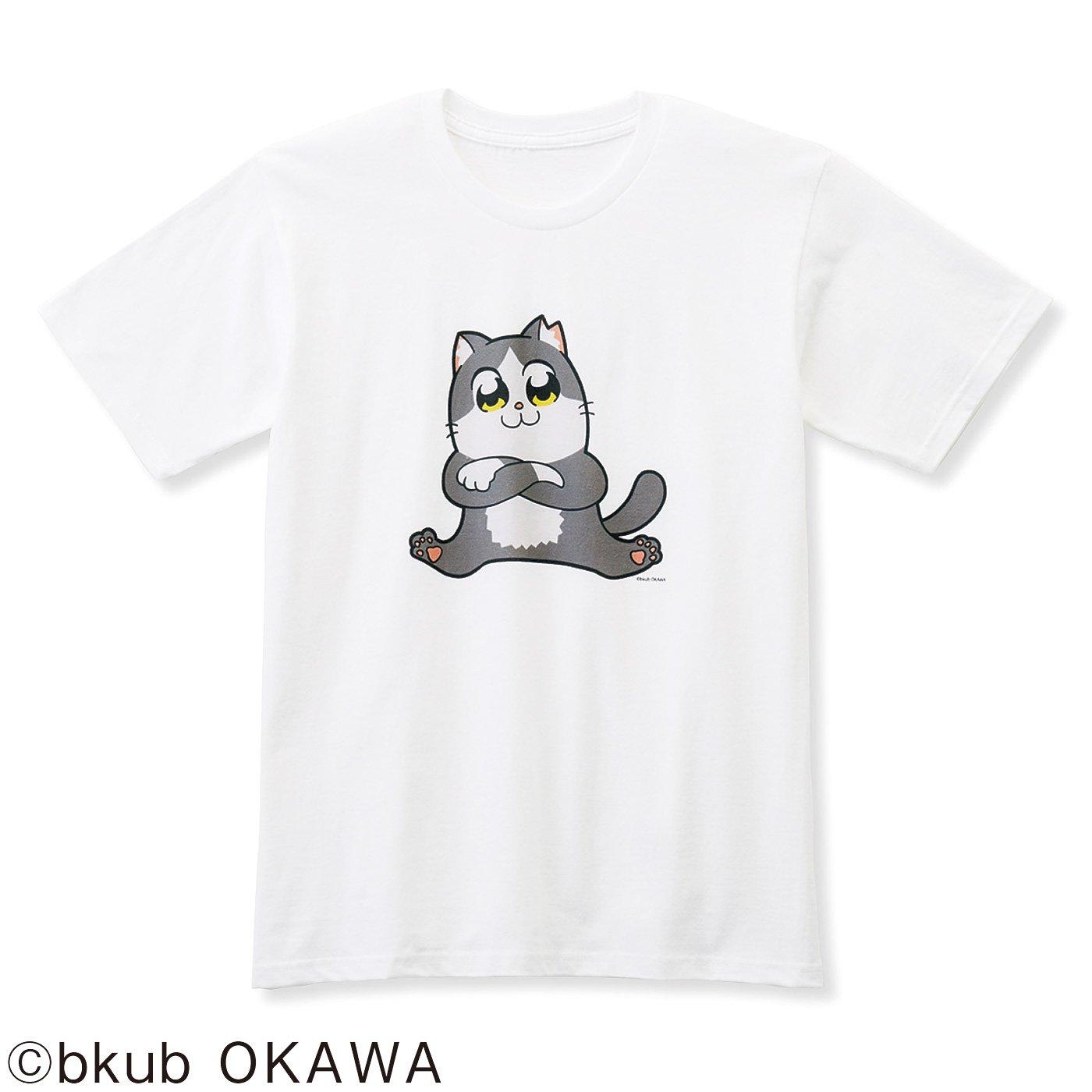 猫部×大川ぶくぶ 地域猫チャリティーTシャツ2019