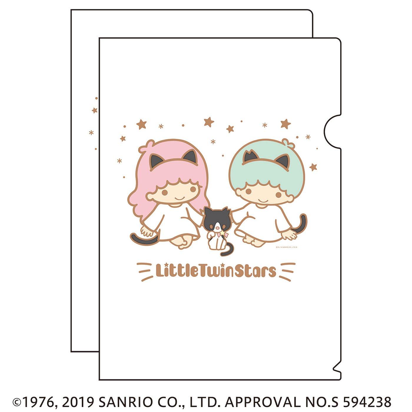 猫部×キキ&ララ 地域猫チャリティークリアファイル2019