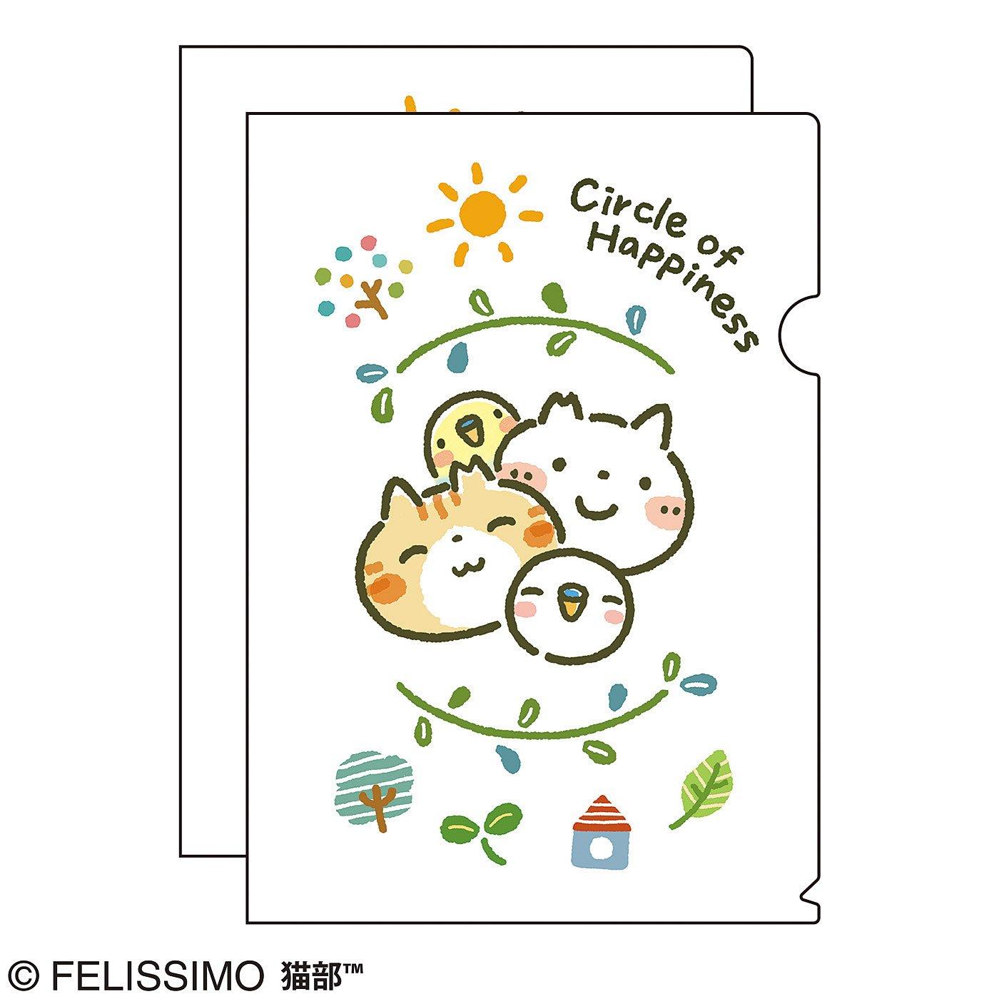 猫部×Honobono 地域猫チャリティークリアファイル2019