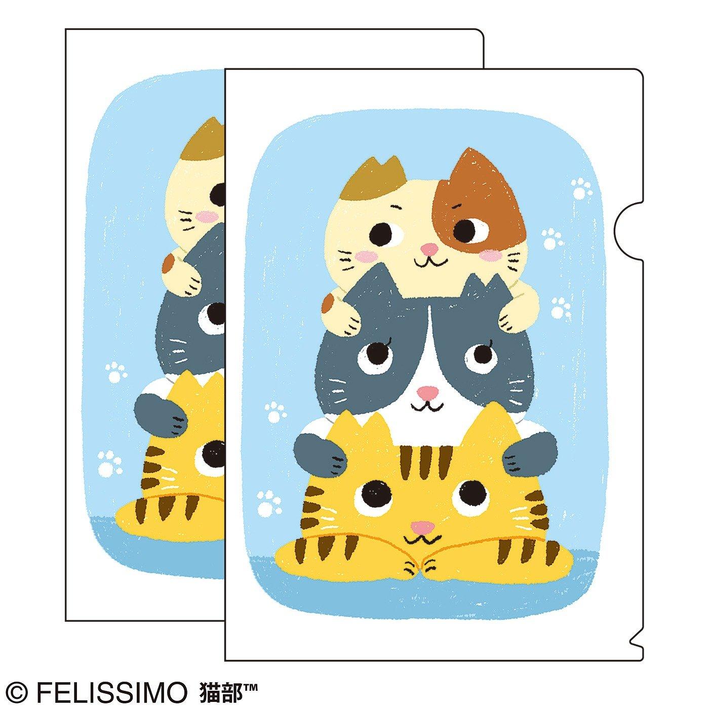 猫部×小坂タイチ 地域猫チャリティークリアファイル2019